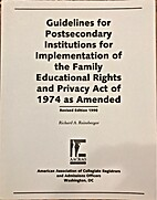 Guidelines for Postsecondary Institutions…