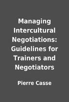 Managing Intercultural Negotiations:…