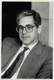 Author photo. Prof. Alexander Nehamas. Photo by Randall Hagadorn, 1994 (photo courtesy of Princeton University)