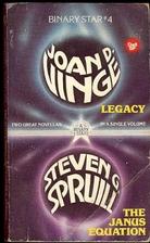 Legacy {novella} by Joan D. Vinge