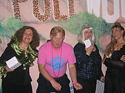 Author photo. Loraine Despres (left) at the 2007 <br>Pulpwood Girlfriends weekend, Marshall, Texas <br>  Copyright © 2007 <a href=&quot;http://ronhogan.tumblr.com&quot;>Ron Hogan</a>