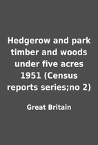 Hedgerow and park timber and woods under…