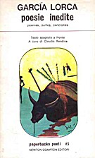 Poesie inedite by Federico García Lorca