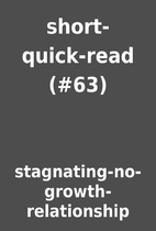 short-quick-read (#63) by…
