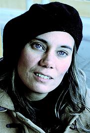Author photo. Swedish writer and critic Gabriella Håkansson