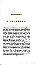 Confessions of a drunkard by Charles Lamb