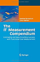 The IT Measurement Compendium : Estimating…