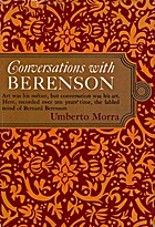 Conversations with Berenson by Bernard…