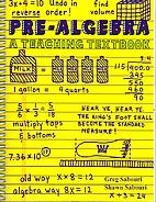 Pre-Algebra: A Teaching Textbook by Greg…