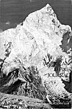 American Alpine Journal 1972 by H. Adams…