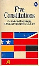 Five Constitutions (Pelican) by S. E. Finer