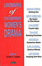 Contemporary Plays by Women by Emilie S.…