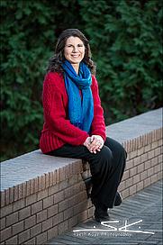Author photo. M.P. Barker Photo by Seth Kaye Photography