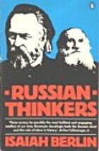 Russian Thinkers (Pelican Books) by Isaiah…