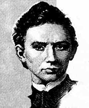Author photo. János Bolyai