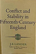 Conflict and Stability in Fifteenth Century…
