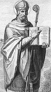 Author photo. Sulpicius Severus / Holy Card