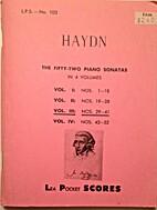 Haydn: The Fifty-two Piano Sonatas: Vol.…