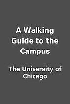 A Walking Guide to the Campus by The…