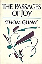 The Passages of Joy by Thom Gunn