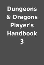 Dungeons & Dragons Player's Handbook 3