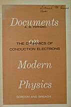 The Dynamics of Conduction Electrons by…