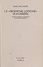 Le Ricerche logiche  di Husserl.…
