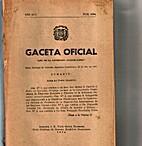Gaceta Oficial: Santo Domingo de Guzmán, 26…