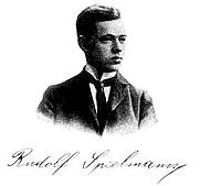 Author photo. Rudolf Spielmann, jugador d'escacs