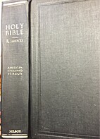 Holy Bible American Standard Version by…