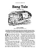 Bang Tale by Joe Archibald