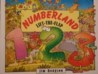 Numberland Lift the Flap by Jim Hodgson