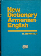 New Dictionary Armenian-English by Matthias…