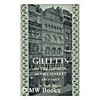 Gilletts in the London money market,…