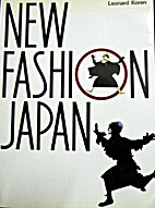 New Fashion Japan by Leonard Koren