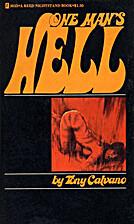 One Man's Hell by Tony Calvano