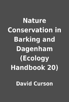 Nature Conservation in Barking and Dagenham…