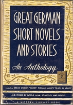 Great German Short Novels and Stories by…