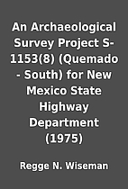 An Archaeological Survey Project S-1153(8)…