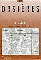 Orsières by swisstopo