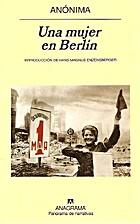 UNA MUJER EN BERLIN by Anónima