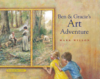 Ben and Gracie's art adventure by Mark…