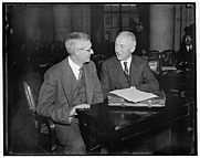 Author photo. Charles Grove Haines (left) with Leon Green: Library of Congress Prints and Photographs Division, Harris & Ewing Collection (REPRODUCTION NUMBER:  LC-DIG-hec-22405)