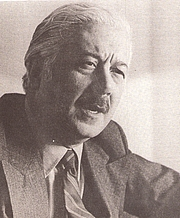 Author photo. Marco Denevi in 1980 [author: unknown; source: revista pajaro de fuego nro 29 sept 1980; grabbed from Wikipedia]