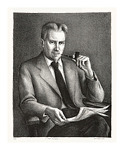 Author photo. Lithograph by Benton Spruance, at <a href=&quot;http://keithsheridan.com/spruance2.html&quot; rel=&quot;nofollow&quot; target=&quot;_top&quot;>KeithSheridan.com</a>