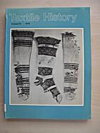 Textile history, vol. 10 [PON-769] by…