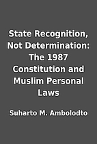 State Recognition, Not Determination: The…