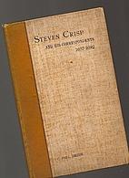 Steven Crisp and his correspondents,…