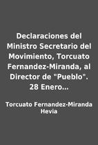Declaraciones del Ministro Secretario del…