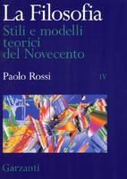 La filosofia: 4. Stili e modelli teorici del…